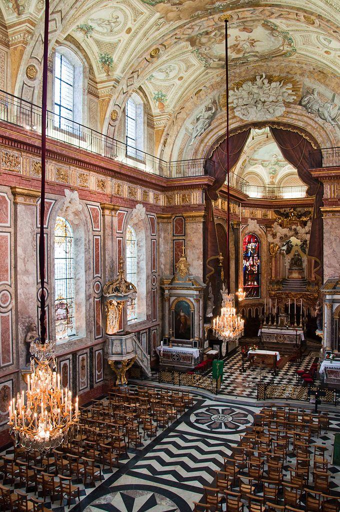 Nancy - Église Bonsecours : dernière église baroque de France