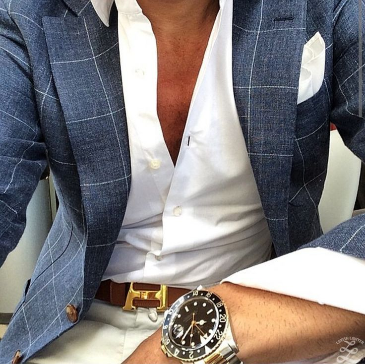 I love the blazer with a crisp white shirt.. But buttoned up a little more !