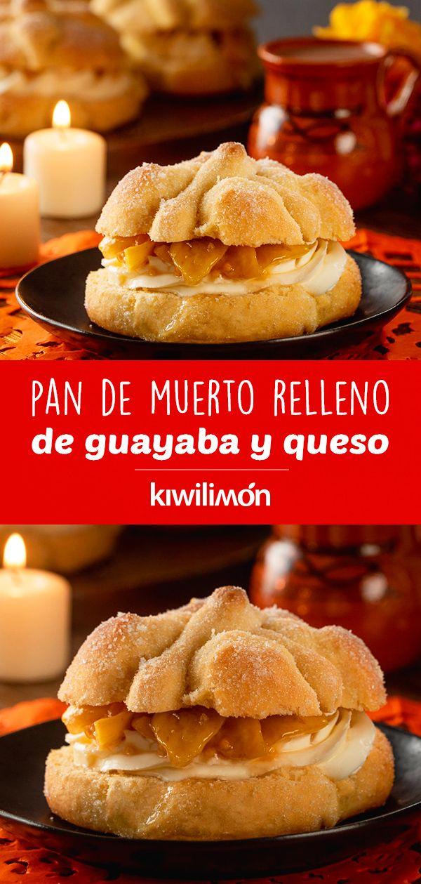 Hacer #pandemuerto relleno en casa será posible de una manera sencilla con esta #receta rellena de #guayaba y #queso. Con este paso a paso podrás preparar con éxito un tipo de pan muy #tradicional en #México, que siempre acompaña las mesas mexicanas en la época de muertos. ¡Esta versión en un tipo de pan muy suave y se le da un giro con un relleno de una #fruta típica de la época! Cake Cookies, Cupcake Cakes, Cupcakes, Mexican Food Recipes, Healthy Recipes, Cake Boss, Queso, Fall Recipes, Deserts