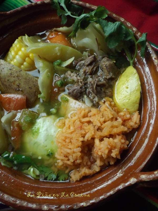 Caldo de Res~It's a Sunday Thing (Mexican-Style Beef Soup) | La Piña en la Cocina