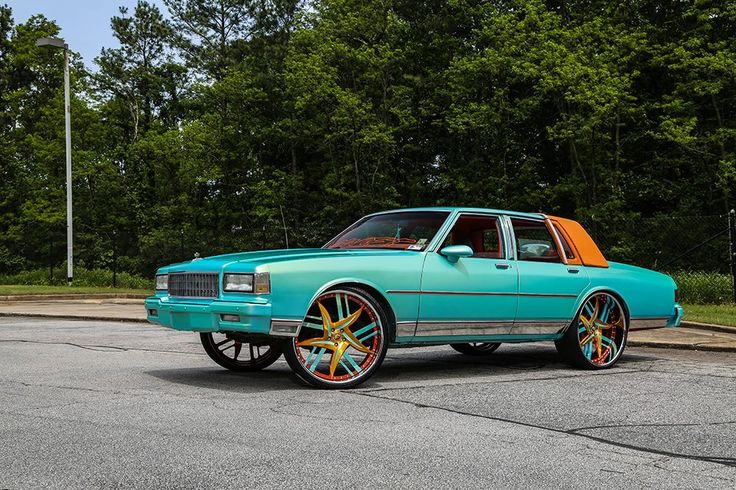 turquoise 1989 chevrolet caprice box chevy gets cool forgiato wheels 1. Black Bedroom Furniture Sets. Home Design Ideas