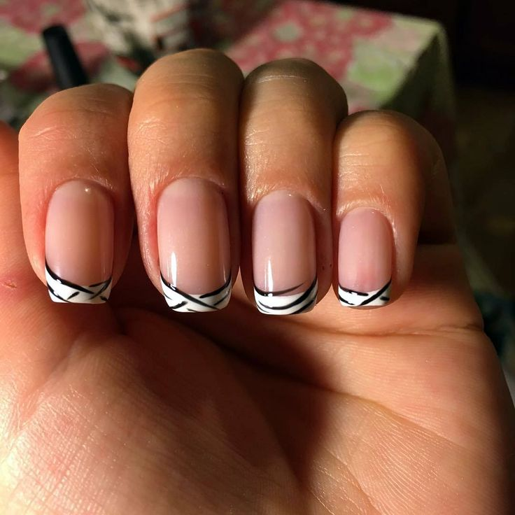 cool 75 Mesmerizing Ideas on French Tip Nails - Fascinating French Manicure Check more at http://newaylook.com/best-ideas-on-french-tip-nails/