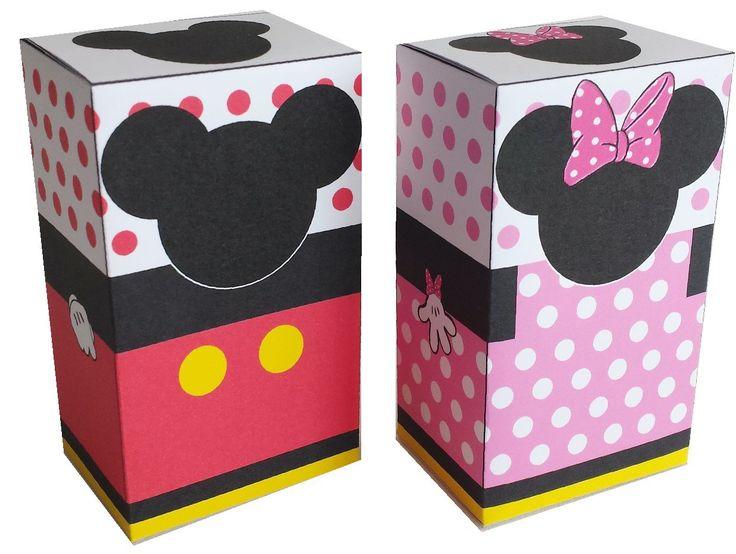 Traktatie Mickey en Minnie doosjes 2
