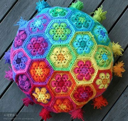 colorful ideas for crocheting