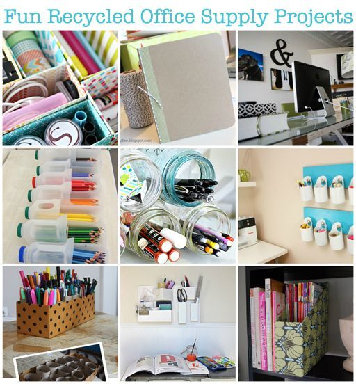 Turns out your favorite #office #supplies can be made using only #recycled materials! Can you believe it?