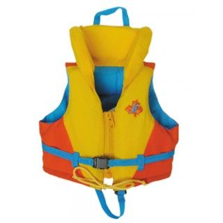 Lifejacket: Jenna always wears her trusty lifejacket whenever she's out sailing in the Little Dipper, her family's boat. Because she spends a lot of time in or near water, Jenna is smart about staying safe.