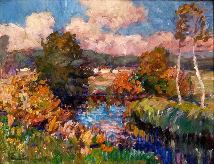 OTAKAR LEBEDA (1877 – 1901)  Landscape
