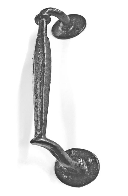 Kirkpatrick 807 Nautical Door Pull Handle - A high quality, iron pull handle. Unsurpassable British quality, hand forged in a foundry in the West Midlands.