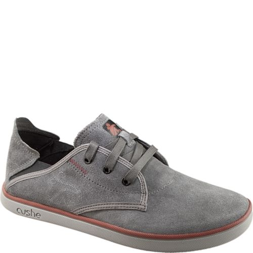Cushe Evo-Lite Albans Suede Men's Casual Shoes (45 in Dark Grey) from Cushe Footwear