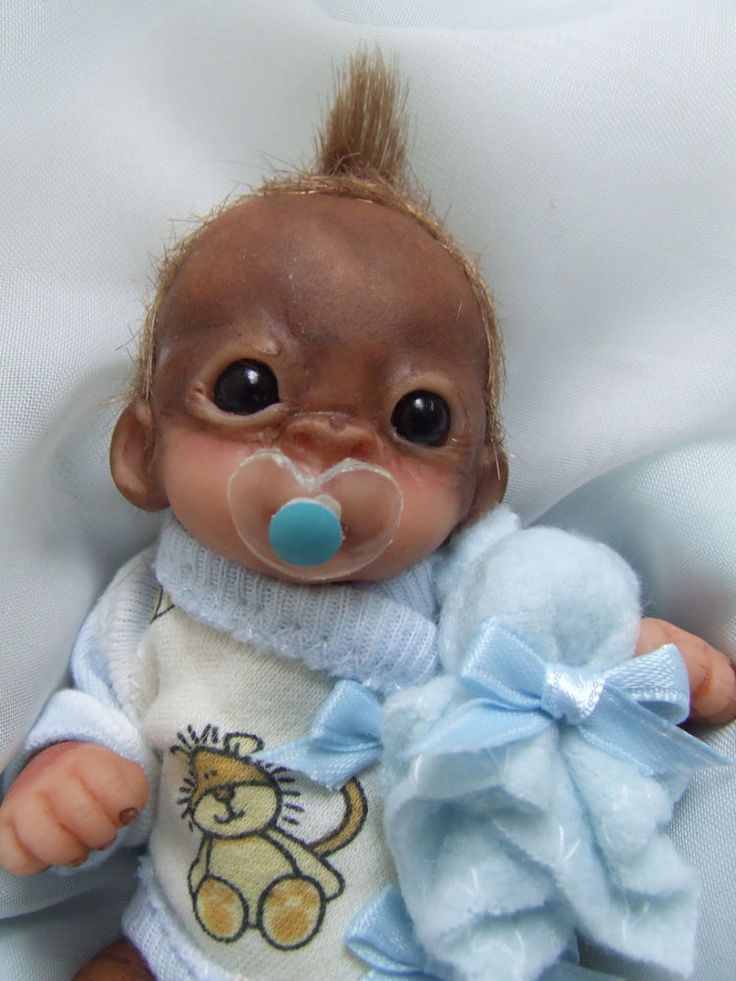 how to make a baby doll out of clay