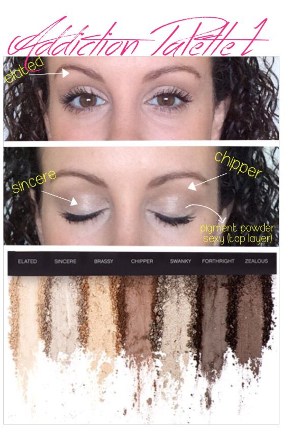 Addiction Palette 1 Makeup Pinterest Makeup Makeup Tips And