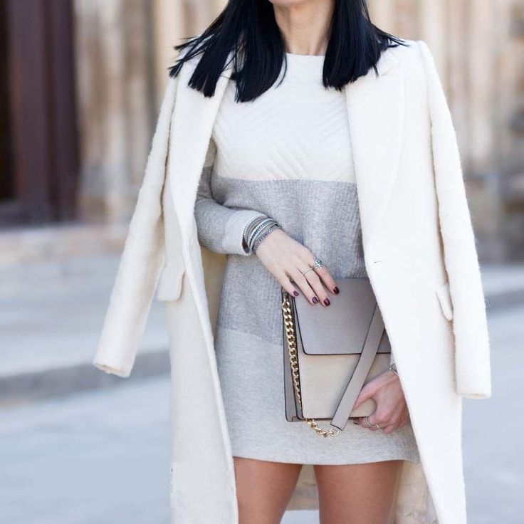 NWT ZARA Tri Colour Marl Gray Mini Dress Tunic Size  M Ref.0594/020 #ZARA #Tunic #Casual