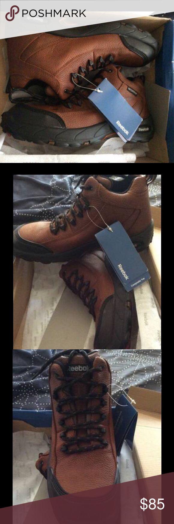 Reebok Composite Toe Boots New waterproof leather Composite Toe safety boots Reebok Shoes Boots
