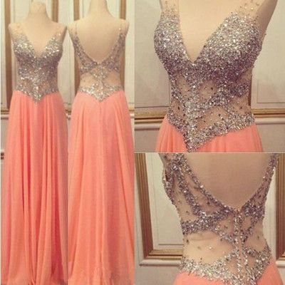 Beading New Arrival Charming Real Made Prom Dress,Charming Evening Dress