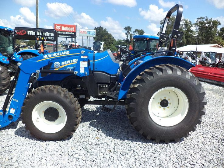 Ocala Tractor New Holland WM75 are here. New holland