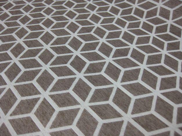"""Stoff grafische Muster - Polyester beschichtet ♥ 0,5m """"Grafik""""... - ein Designerstück von Schwesterlich bei DaWanda"""