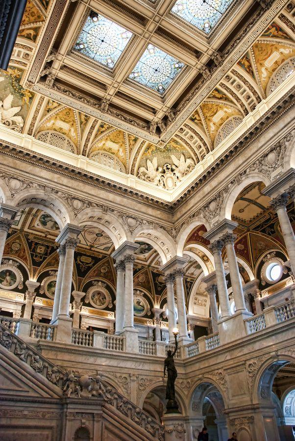 Library of Congress, Washington, D.C. USA