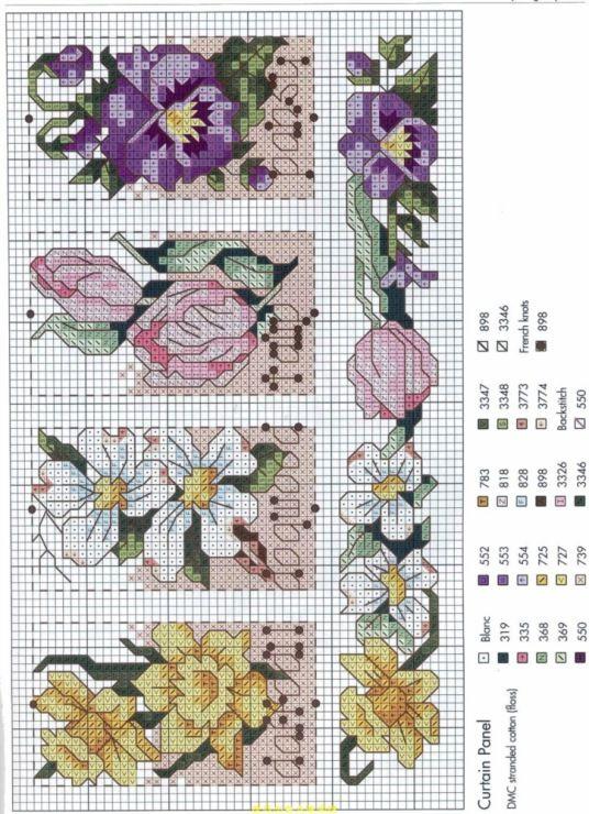 Cross-stitch Flower Bookmarks...    (71) Gallery.ru / Фото #25 - 123 - tatasha