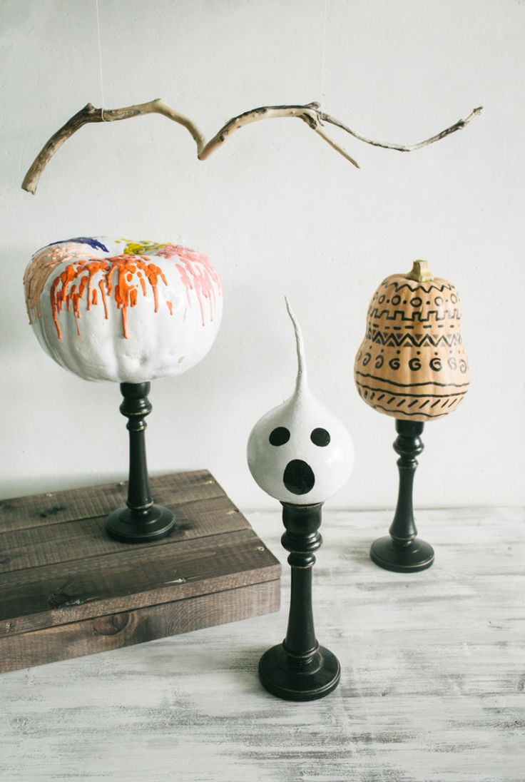 DIY Halloween Pumpkins // Simple + Beyond