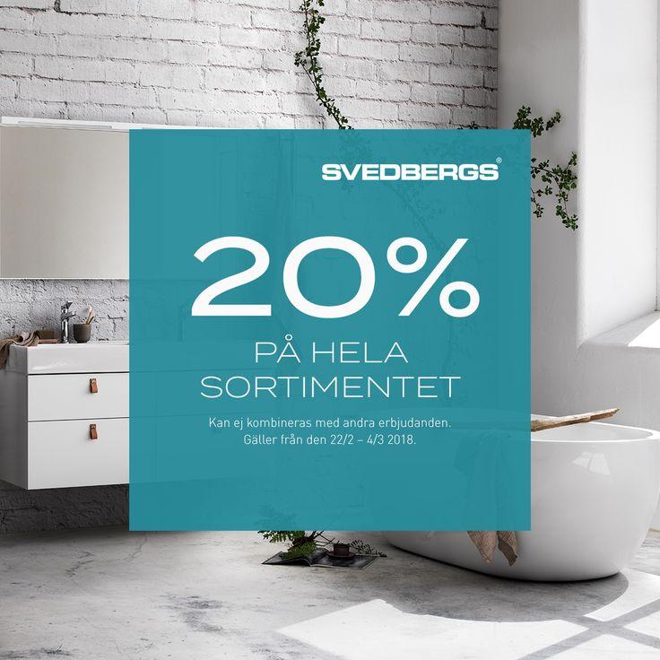 Badrum, badkar, badrumsmöbler och inspiration   Svedbergs