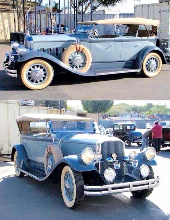 1929 Pierce Arrow Dual Cowl Phaeton once owned by Charlie Chaplin