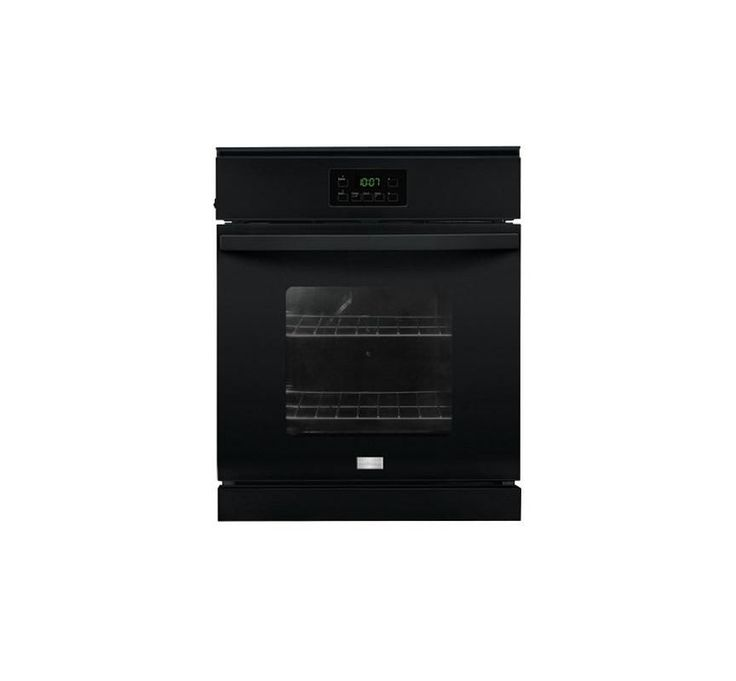 Frigidaire FFEW2415Q 24 Inch Wide 3.3 Cu. Ft. Single Electric Oven with Vari-Bro Black Ovens Electric Single
