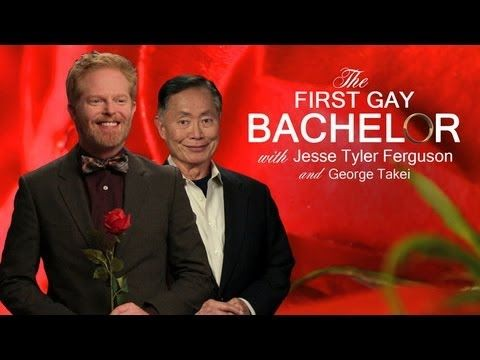 The First Gay Bachelor with Jesse Tyler Ferguson and George Takei - YouTube