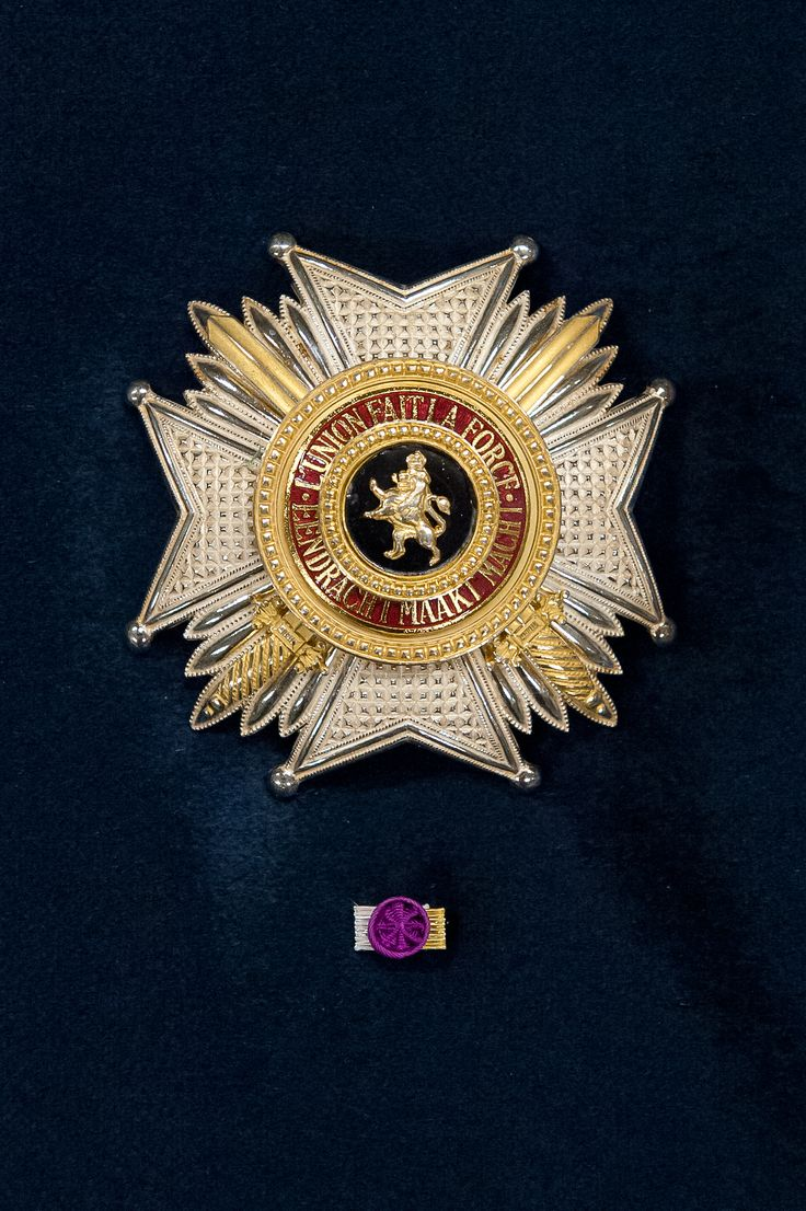 Order of Leopold (military), Grand Officer