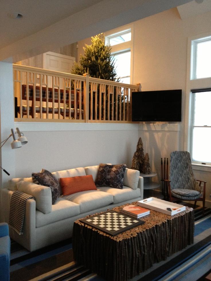 Custom rectangular buckthorn twig table 24 x 50 x photo courtesy of anthony baratta design nyc