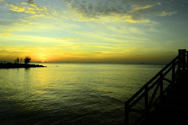 Sunset at Ha Tien...