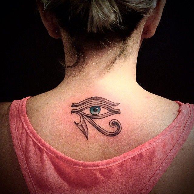 eye of Ra tattoo