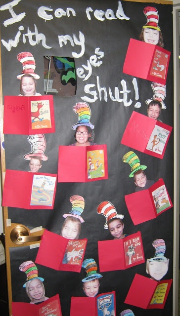 dr seuss door decorating contest ideas - Google Search