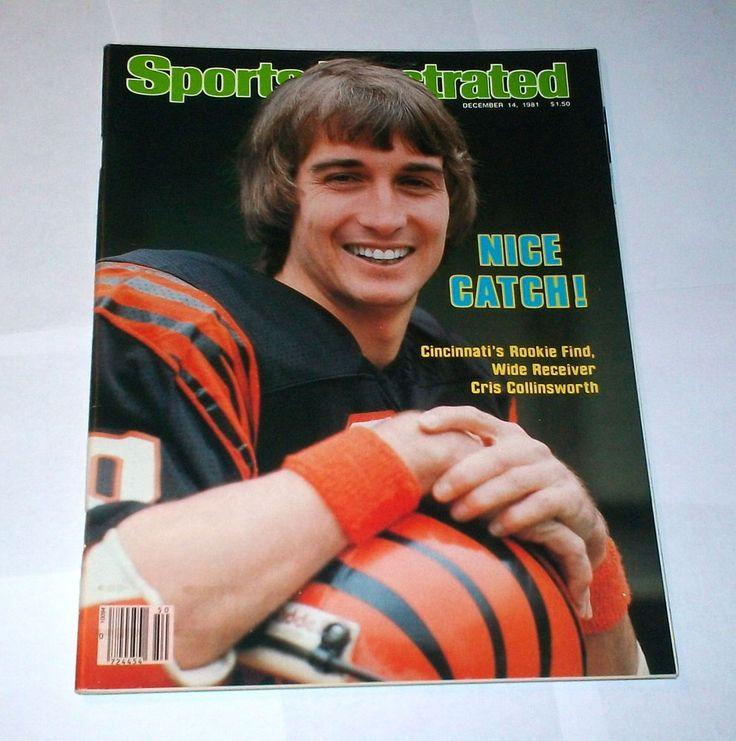 1981 no label ! sports illustrated cris collinsworth cincinnati bengals !  from $9.99