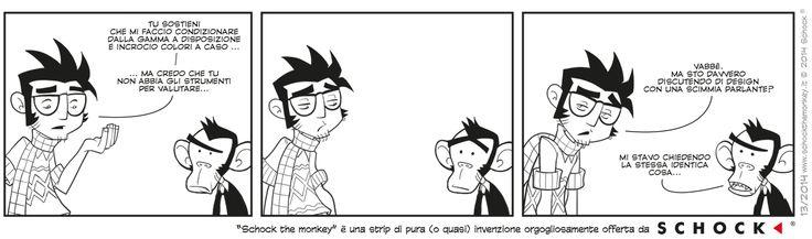Schock The Monkey Strip with @tramzone  e @justdusty