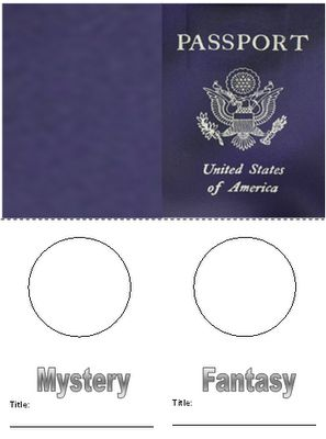 genre passports / students like the challenge of getting the passport all filled in with the genre stamps - CLEVER!