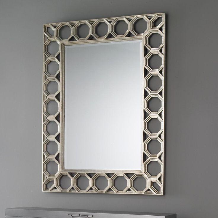 Honeycomb Lattice Framed Mirror 46 best Mirrors