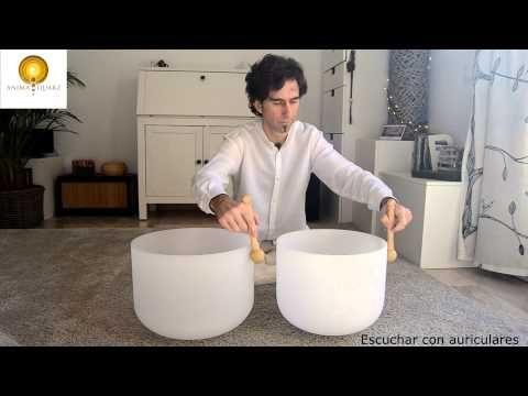 SONIDOS BINAURALES con cuencos de cuarzo