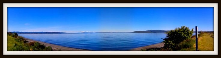 A stunning day in Taupo!