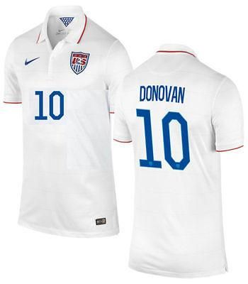NIKE LANDON DONOVAN USA YOUTH HOME JERSEY FIFA WORLD CUP BRAZIL 2014.
