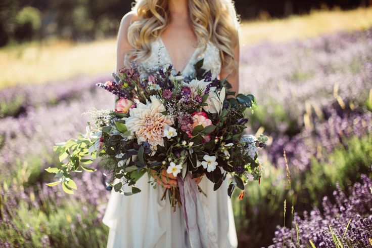 This whimsical wedding inspiration shoot at Long Meadow Farm is full of fun boho details like macramé table runners and an effortless bridal style.
