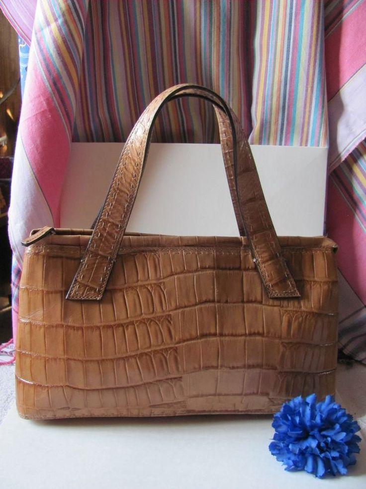 hermes constance bag price - Fossil womens light brown leather/faux croc satchel handbag ...