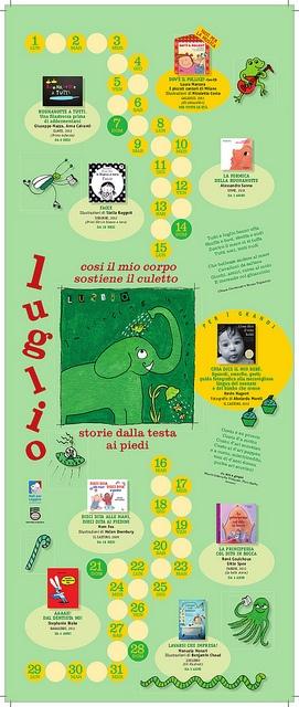 Calendario Nati per Leggere e Nati per Musica in Sardegna 2013: LUGLIO