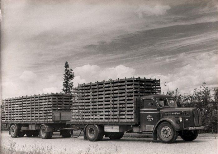 Scania Vabis B-13745 Friese Nummerbewijzen, kentekens voor auto's en motoren 1906-1951