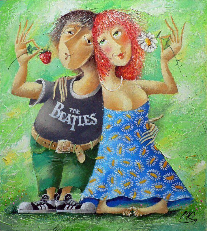Картинки крутые, смешные рисунки пар