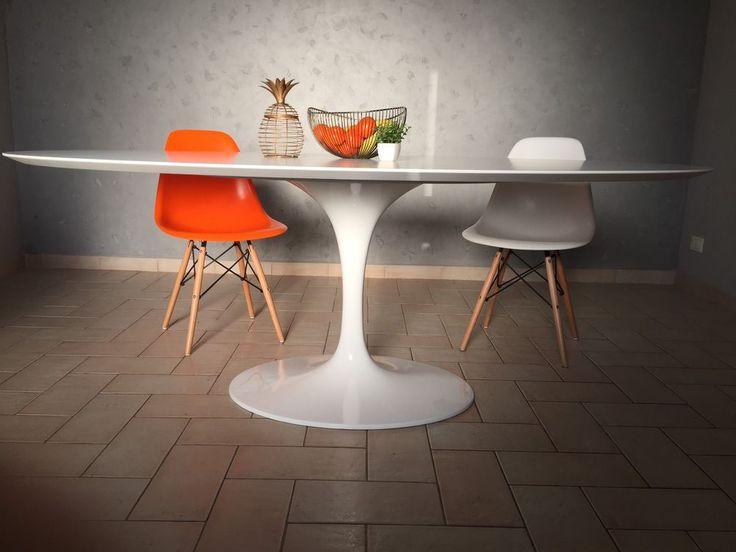 Oltre 25 fantastiche idee su tavolo tulip su pinterest - Tavolo ovale marmo bianco ...