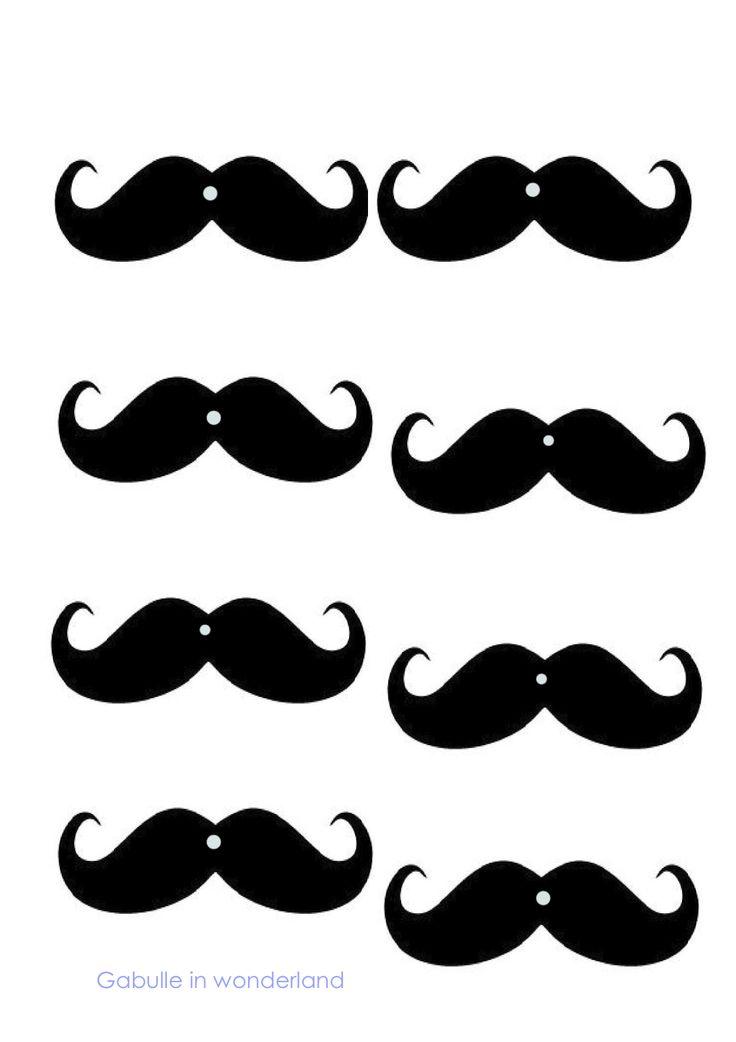 Gabulle in Wonderland: DIY : les pailles à moustaches (tuto et gabarit)