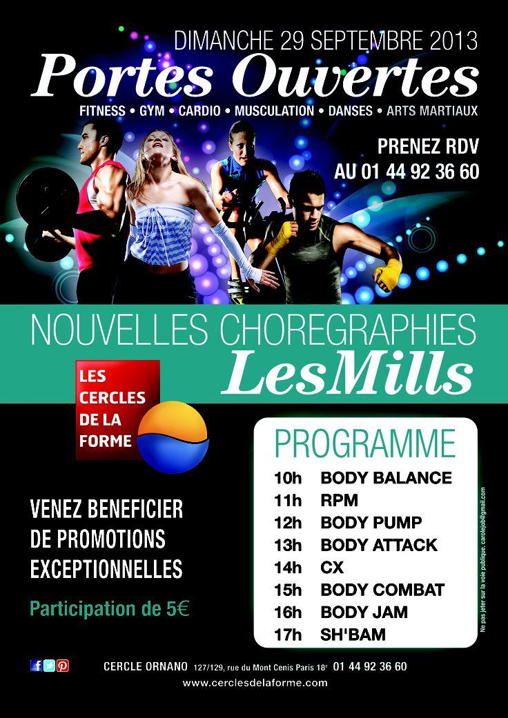 Retrouvez toute l'équipe des Cercles de la Forme Dimanche 29 Septembre à partir de 10.00 pour vous présenter toutes les nouvelles chorégraphies #LesMills  On compte sur vous. www.cerclesdelaforme.com #fitnessday #fun
