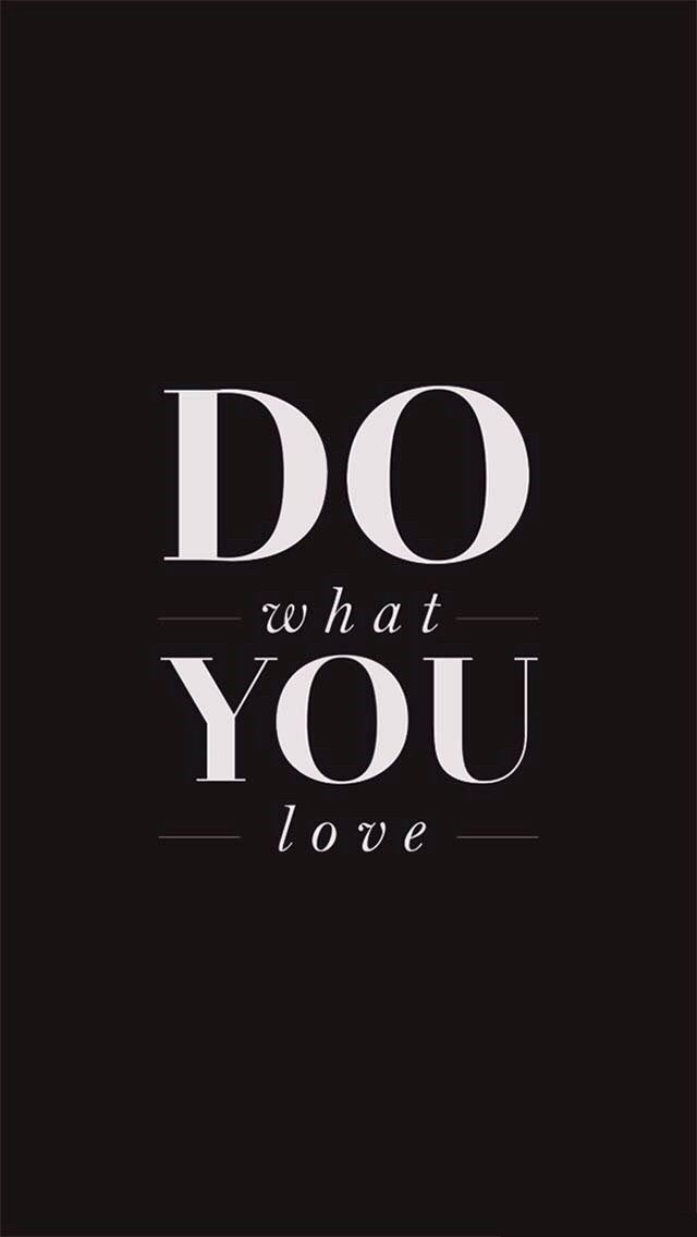 Do what You Love - Tap to see more sweet quotes about love! - @mobile9