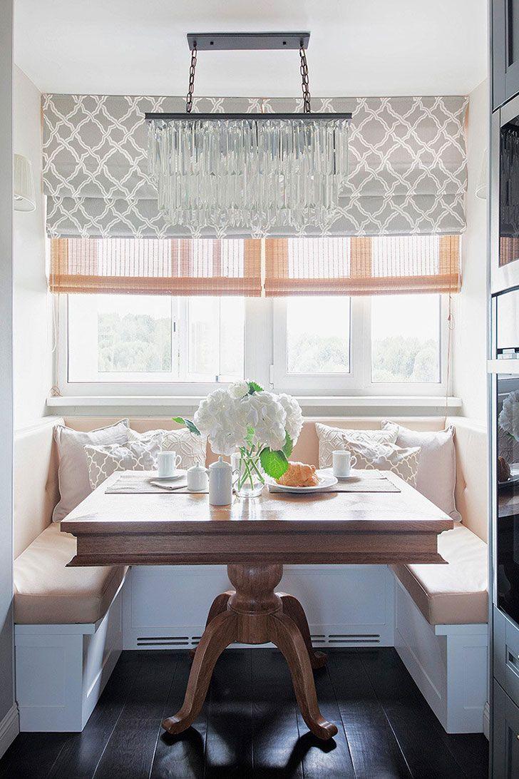Интерьер квартиры в Москве, навеянный любовью к французскому дизайну   Пуфик - блог о дизайне интерьера