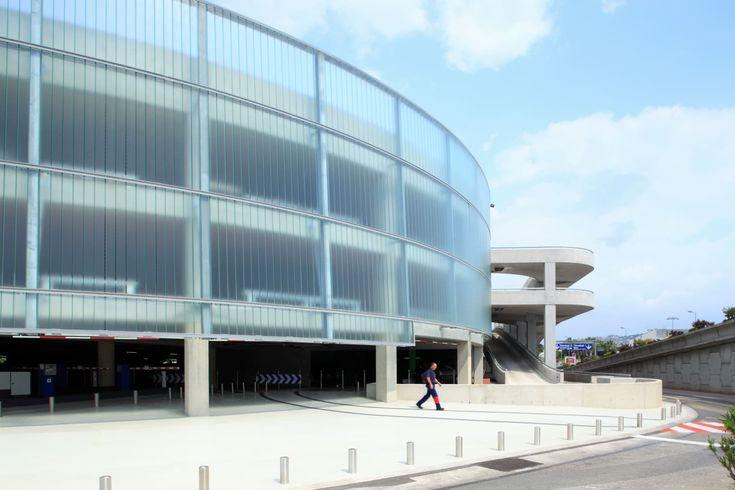 Marc Barani Architecte, Serge Demailly · Parking Aéroport de Nice